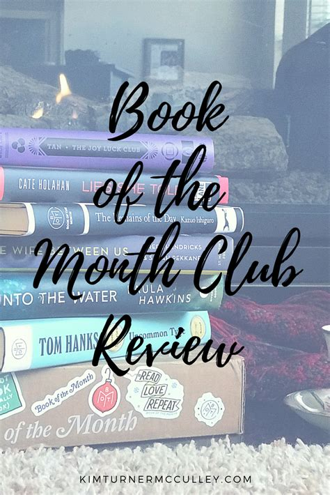 Book Review Of The Month Club By Jackie Clune by Book Of The Month Club Review Turner Mcculley