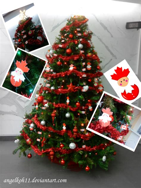 canada christmas tree decorati by angelkoh11 on deviantart