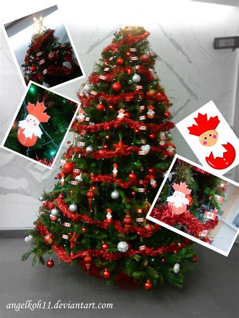 canada christmas tree decorati by angelkoh11 on deviantart