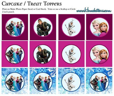 printable frozen toppers frozen toppers para imprimir gratis logos templates