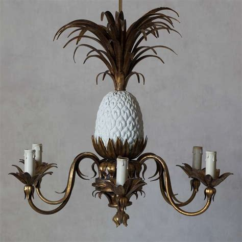 Pineapple Chandeliers Pineapple Chandelier 1950s At 1stdibs