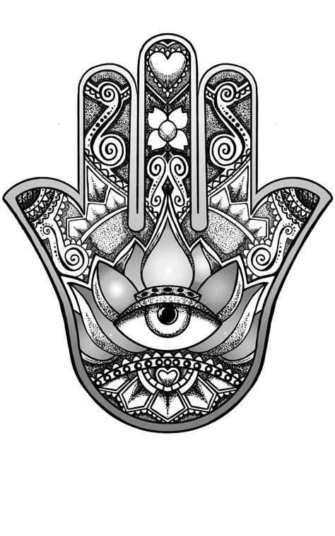 hamsa design by andywillmore on deviantart