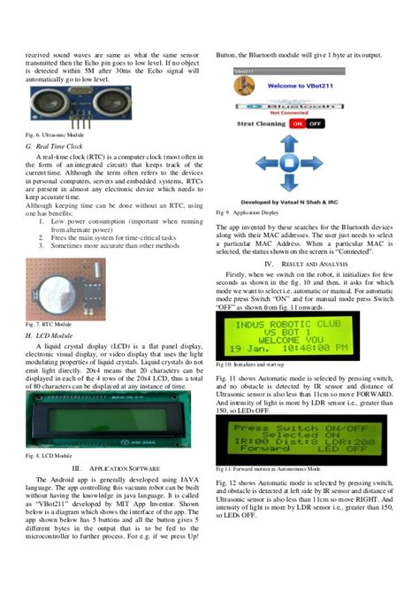 Floor Cleaning Robot Project by Floor Cleaning Robot Project Pdf Meze