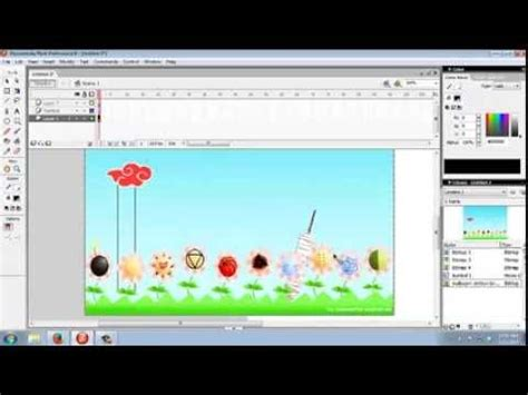tutorial video macromedia flash 8 tutorial membuat presentasi dengan macromedia flash 8