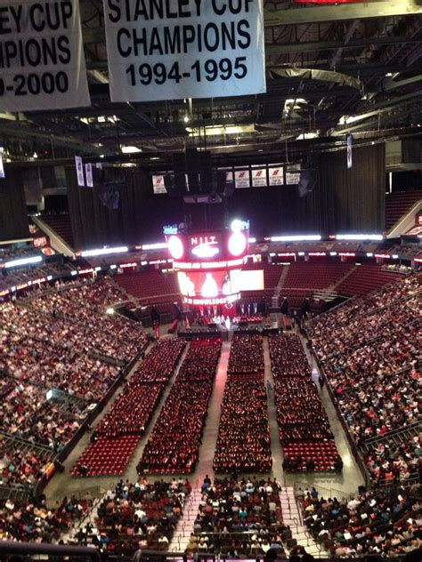 virtual c section mezzanine level end prudential center concert seating
