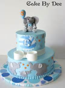 you to see baby elephant baby shower cake by cakesbydee