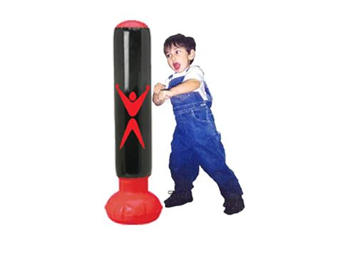 youth punching bag for physical success