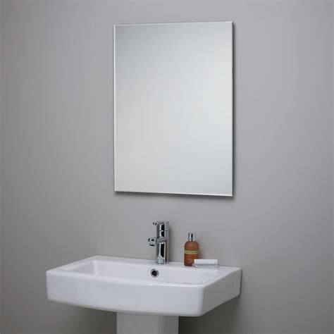 Bevelled Bathroom Mirror by Lewis Bevelled Edge Bathroom Mirror At Lewis