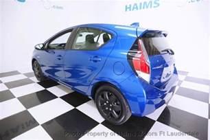 Used Toyota Prius C 2015 Used Toyota Prius C 5dr Hatchback One At Haims Motors