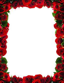 red rose border clip art clipart free download