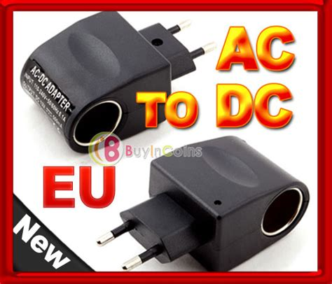 Eu Ke Car Charger 12v 500ma 110v 220v ac to 12v dc eu car power adapter converter buyincoins