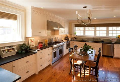 white cabinets with wood floors pictures of kitchens traditional white kitchen