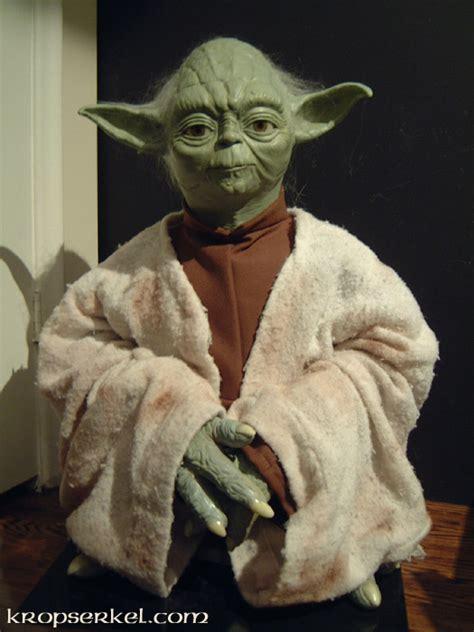 yoda costume kropserkel yoda display replica