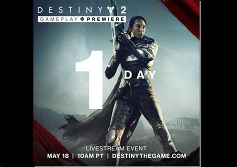 destiny gameplay reveal set tomorrow news