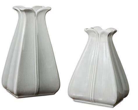 Flosina Set uttermost florina vases set of 2 uttermost 19773 at homelement