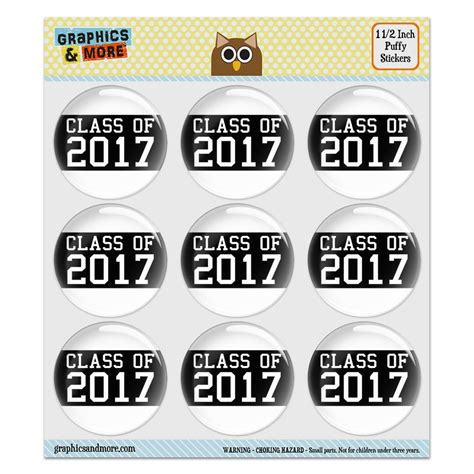 Class Of 2017 Stickers