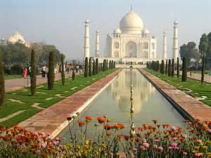 Taj Mahal Garden Layout تاج محل قصة حب خالدة وأحد عجائب الدنيا السبع موسوعة المعلومات