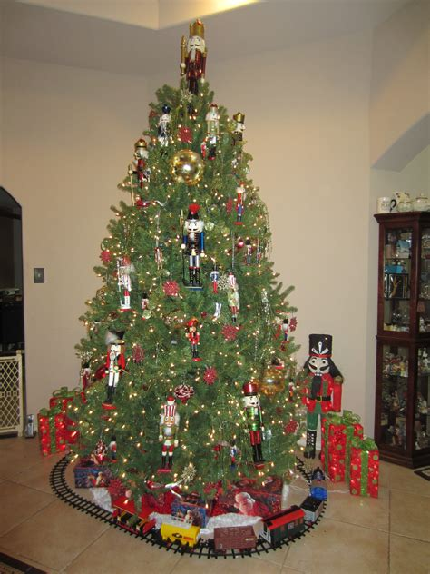 nutcracker christmas tree christmas ideas pinterest