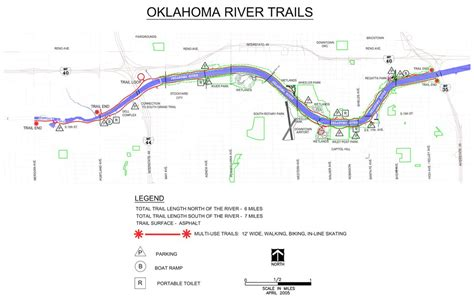 oklahoma rivers map oklahoma river trails maplets