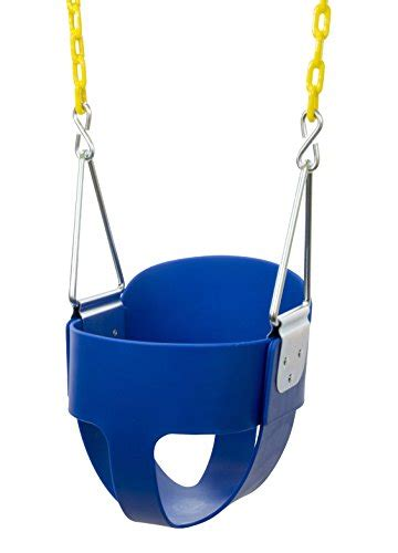 infant bucket swing high back full bucket toddler swing seat with plastic