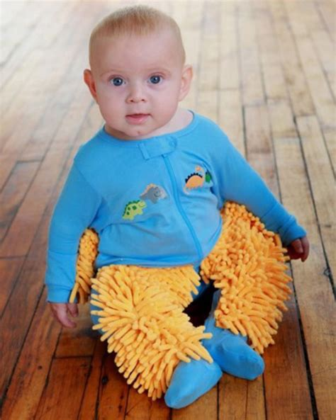 Baby Clean Floor by Use Child Labor To Clean Your Floor With Baby Mops