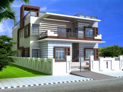 home design foundation dezin decor duplex homes ds max