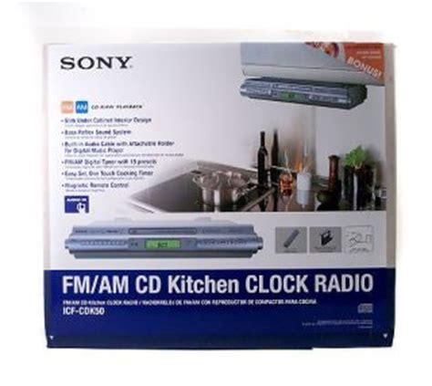 sony cabinet kitchen cd clock radio sony icf c218 on popscreen