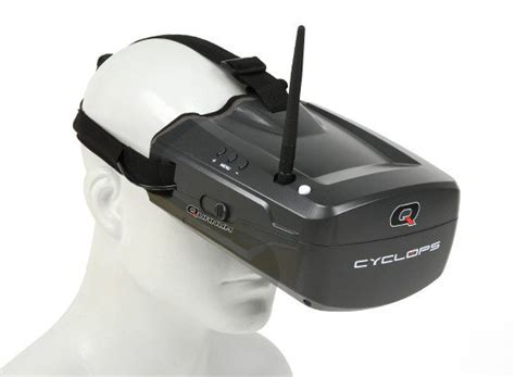 Quanum Cyclops Fpv Goggle W Integrated Monitor And Rec Diskon quanum cyclops fpv goggle w integrated monitor and receiver