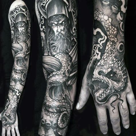 shaded sleeve tattoos for men 75 tattoos for masculine ink design ideas