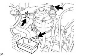 Fuel System Warning Light Toyota Hiace Toyota Diesel Efi Fuel System The Water From Fuel Filter
