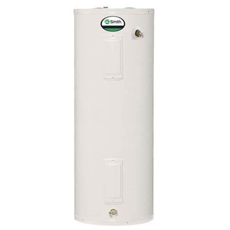 ao smith 40 gallon electric water heater lowboy