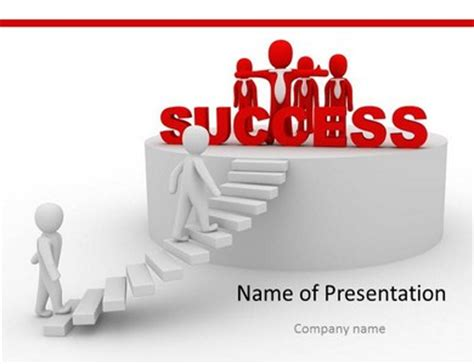 Ladder Of Success Powerpoint Template Ladder Powerpoint Templates Success Powerpoint Templates