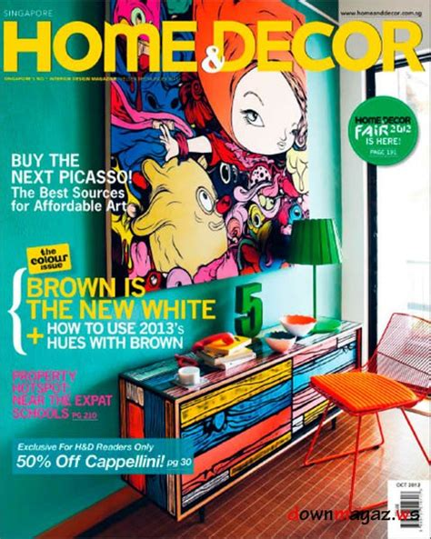 magazines for home decor home decor magazine october 2012 187 download pdf
