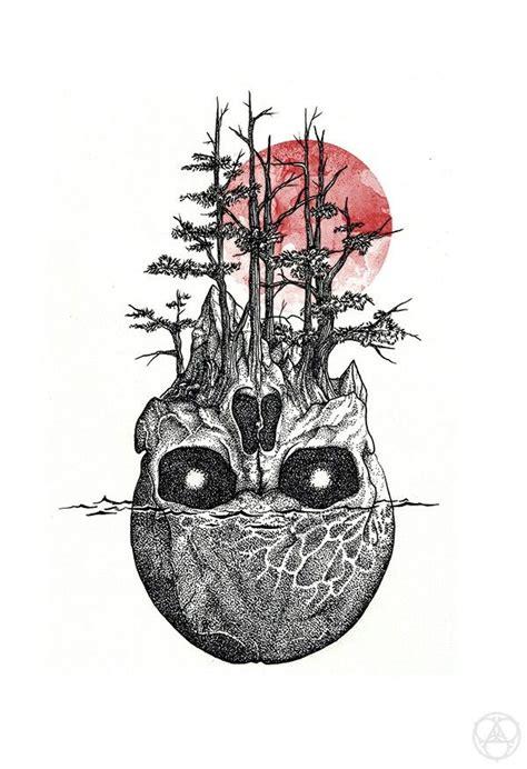 blood moon tattoo skull blood moon tattoos moon