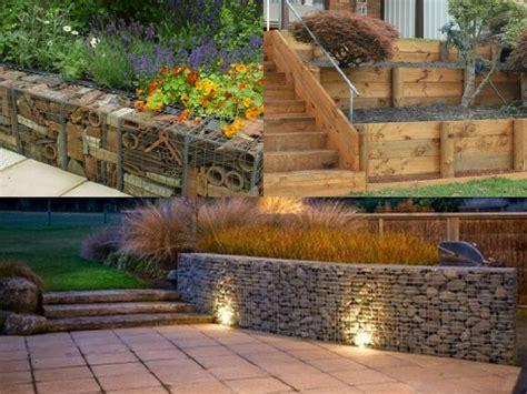 muro contenimento giardino 7 idee per realizzare pareti di sostegno nel giardino