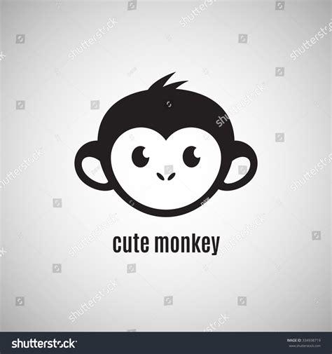 new year monkey logo monkey new year 2016 vectores en stock 334938719