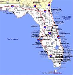florida highway map map of florida highways deboomfotografie