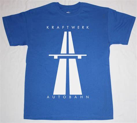 Tshirt Kraftwerk by Kraftwerk Autobahn 74 Krautrock Electronic Synthrock New