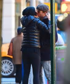 jaimie alexander kisses fiance peter facinelli in new york