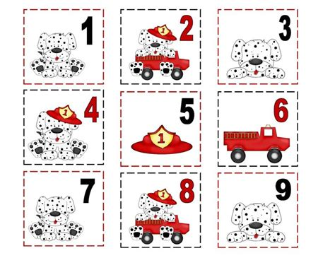 number pattern game ideas 137 best fire safety activities images on pinterest