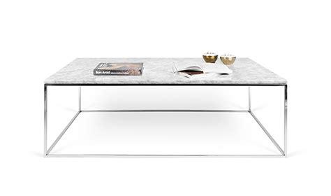 Table Basse En Marbre Blanc by Table Basse En Marbre Blanc De Carrare Avec Pieds En Acier