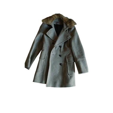 manteau comptoir manteaux comptoir des cotonniers manteau gris ref