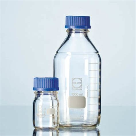 Laboratory Bottles 5000ml Duran German duran clear glass laboratory bottle with cap home