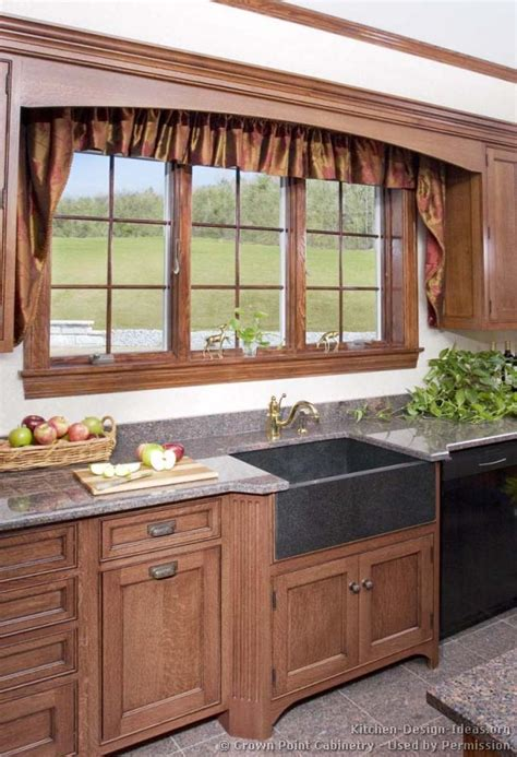 Kitchen Window Design Ideas Kitchen Idea Of The Day Country Kitchens By Crown Point Cabinetry Kitchens Of The Day