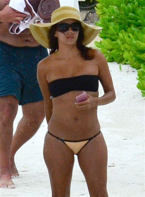 Longoria Wears Bikinis by Longoria Wearing A In Cancun Mexico 08