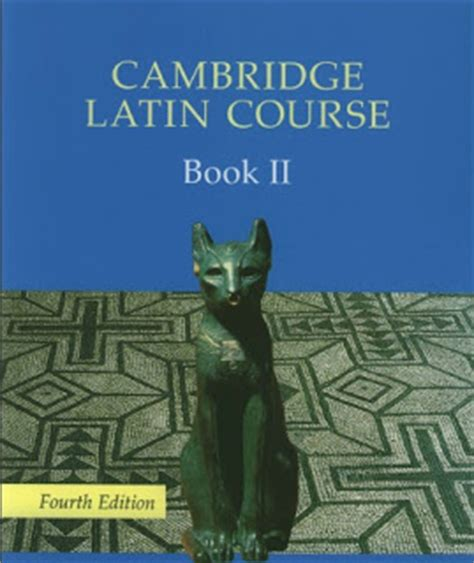 cambridge latin course book iclassics cambridge latin course 2 levels
