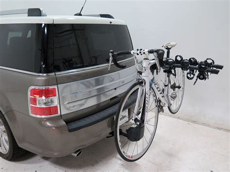 2014 ford flex thule vertex 4 bike rack 1 1 4 quot and 2