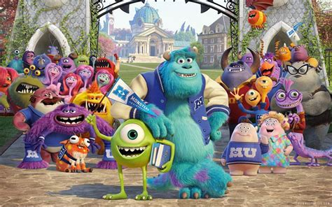 film cartoon monster university monsters university animated movie wallpapers xcitefun net