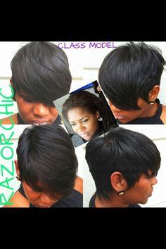 razor chic on pinterest malinda williams quick weave and short quick weave hair styles for african american women