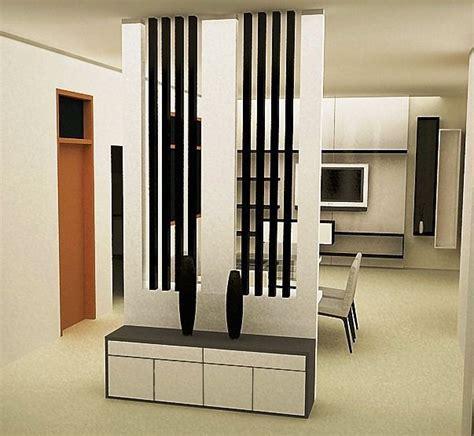 sekat atau pembatas ruangan minimalis modern desain